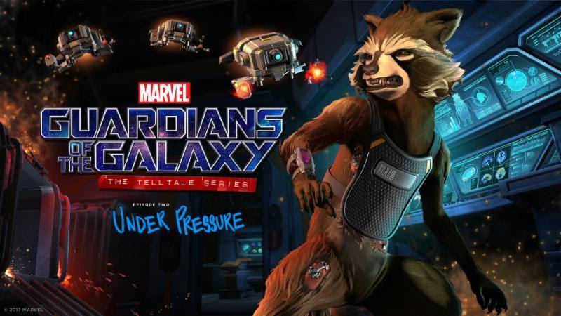 Guardianes de la Galaxia de Telltale Games Episodio 2: Under Pressure