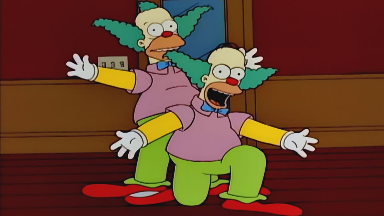 Los Simpson 06x15 Homie El Payaso Escuela De Risas