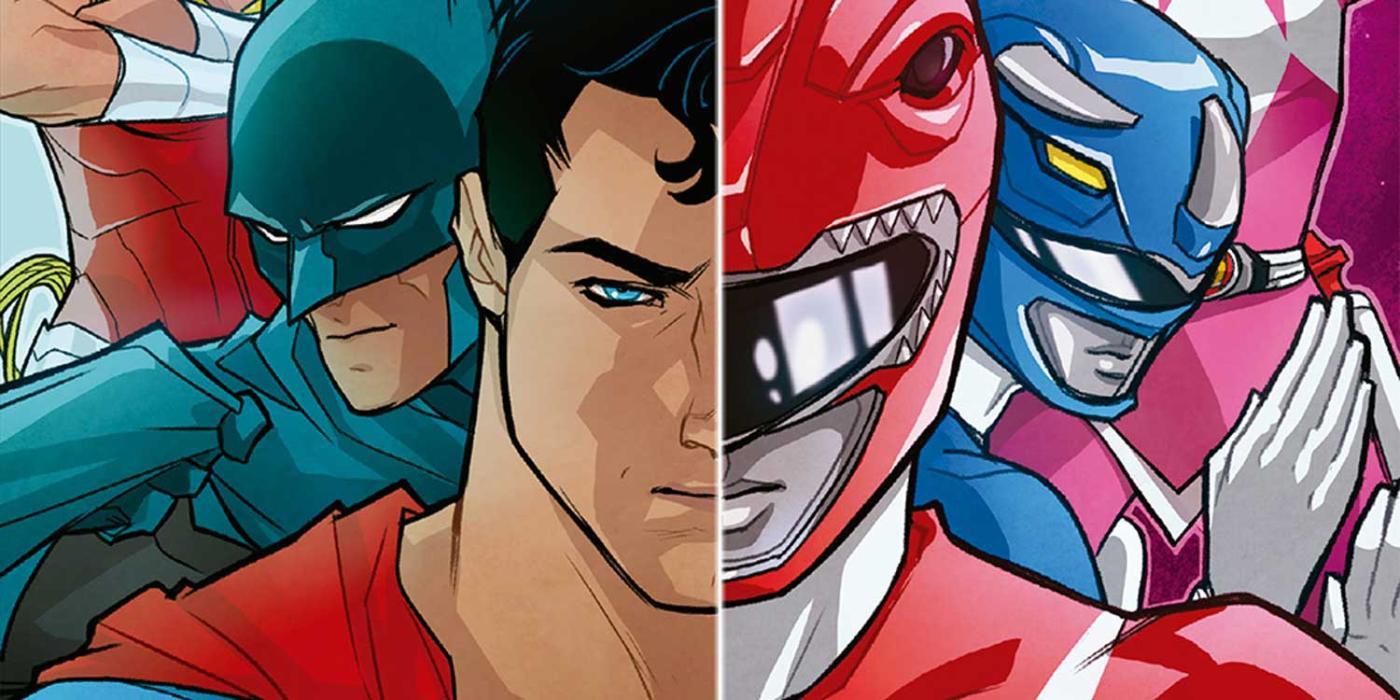 Liga de la Justicia - Power Ranger 1 - Review del crossover