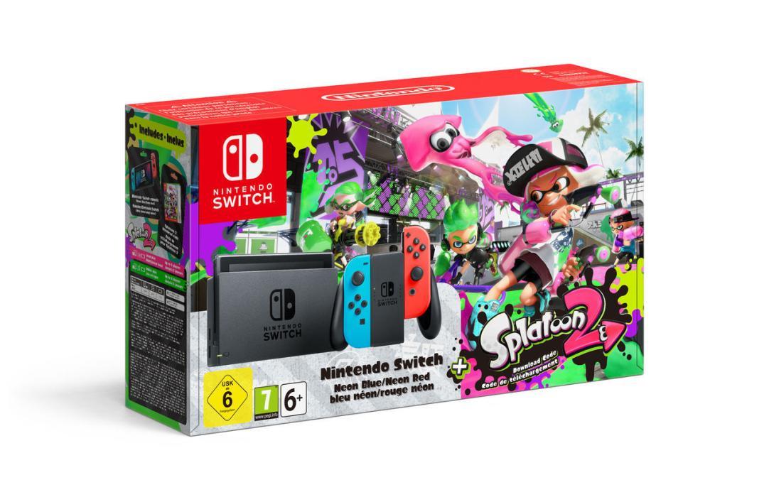 Nintendo Switch + Splatoon 2