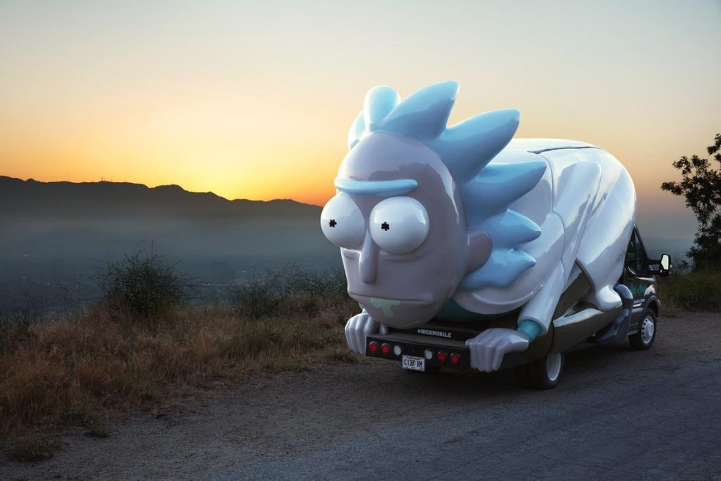 Rick y Morty - Rickmobile