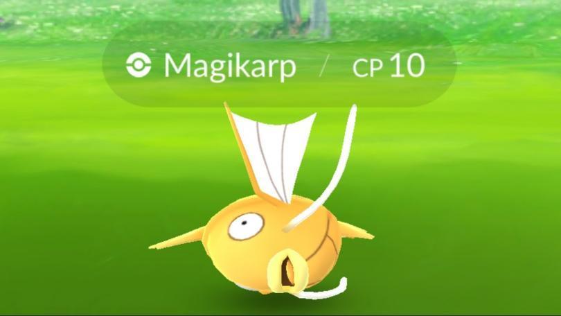 Shiny Magikarp Pokémon GO