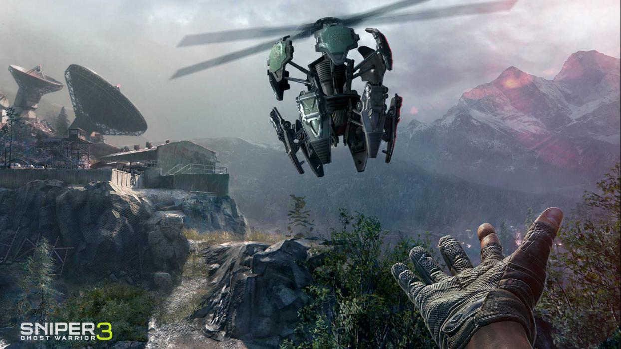 Sniper Ghost Warrior 3 dron