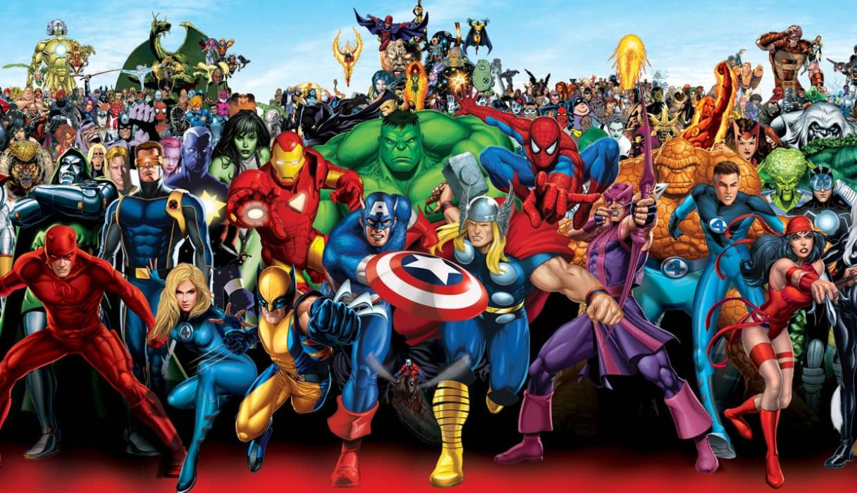 Resultado de imagen para los personajes de Stan Lee