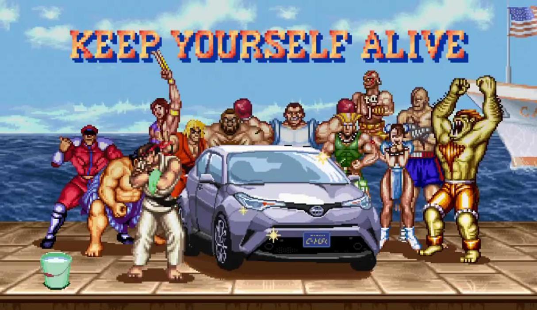 Toyota Street Fighter II