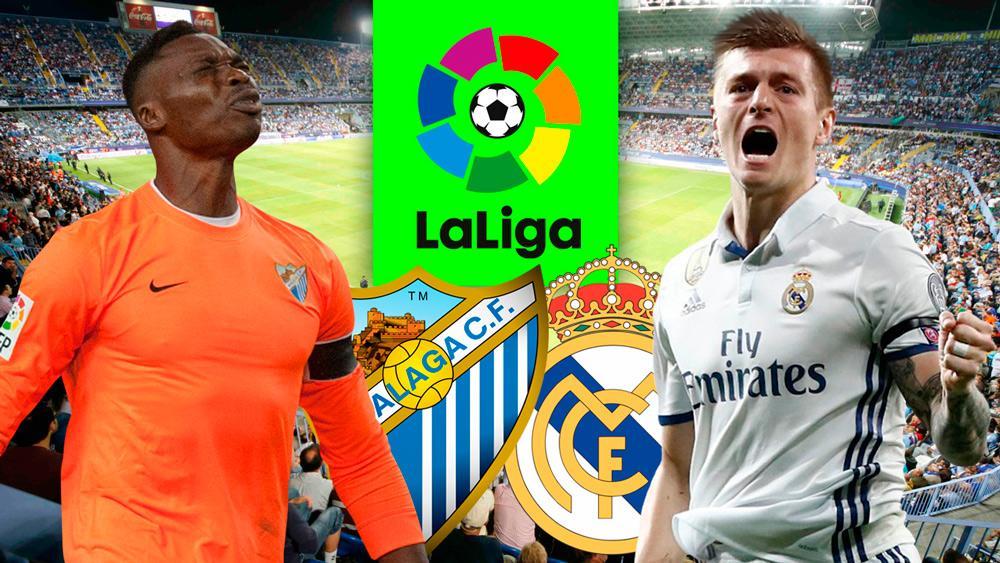 Ver Malaga Real Madrid