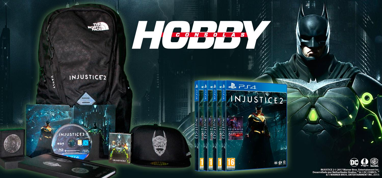 Regalos concurso Injustice 2