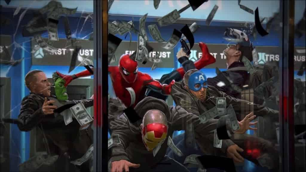 Spider-Man: Homecoming - Arte conceptual de las batallas