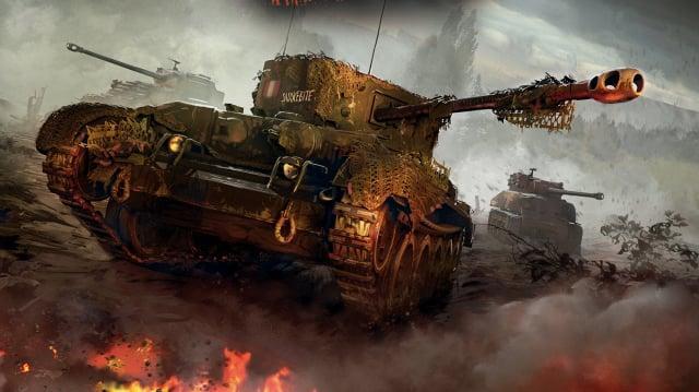 Comic World of Tanks
