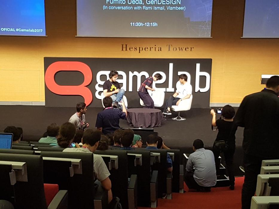 Fumito Ueda en Gamelab