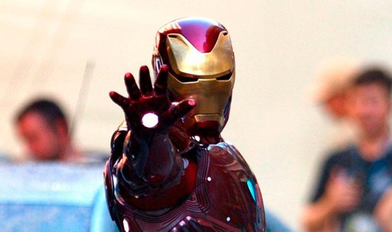 Iron Man en Vengadores Infinity War