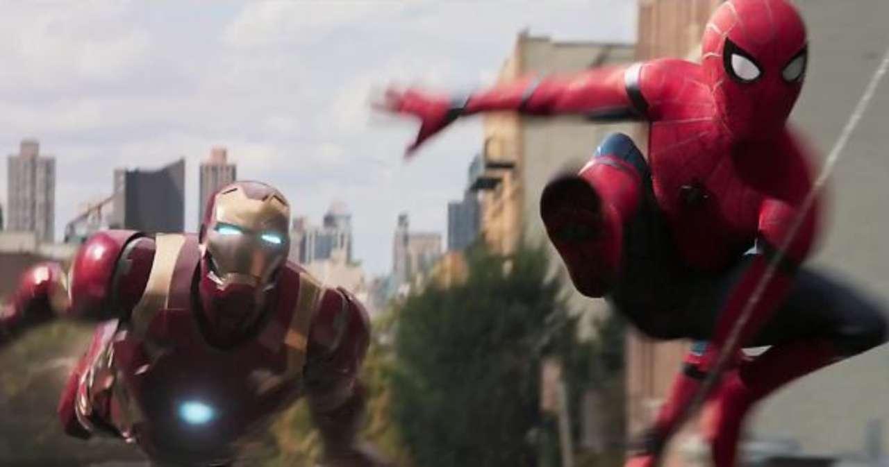 Spider-Man y Iron Man