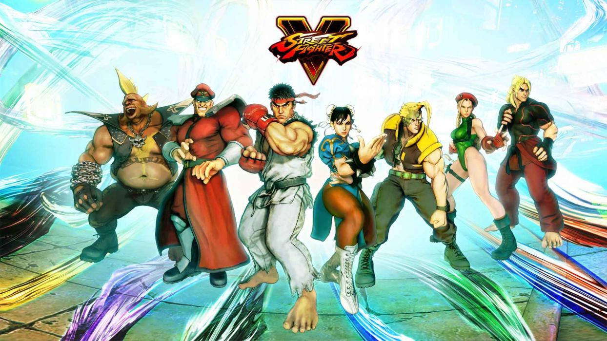 Personajes Street Fighter V