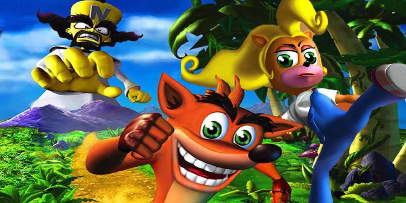 Crash Bandicoot Todos Los Juegos De La Mascota