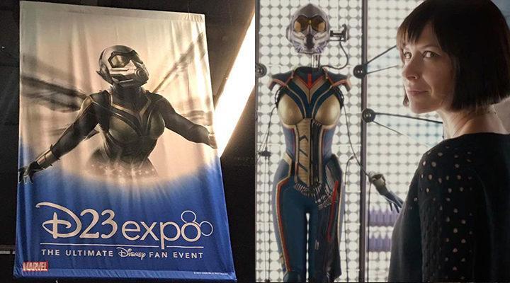 Ant-Man and The Wasp - Primer vistazo al traje de La Avispa