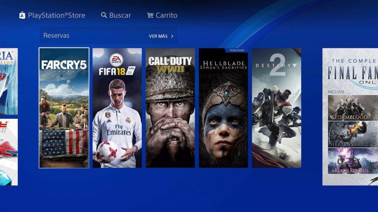 Descargar juegos rápido en PS4