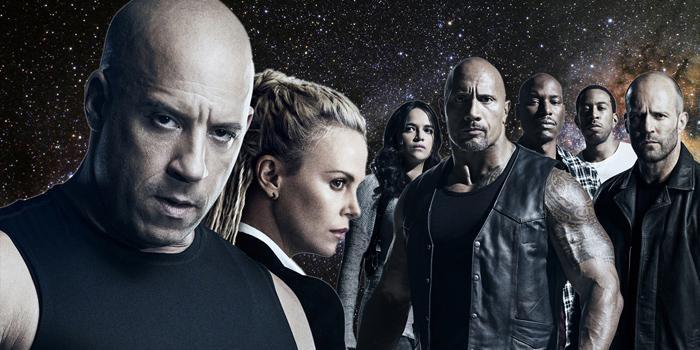 Espacio. A todo gas, Vin Diesel