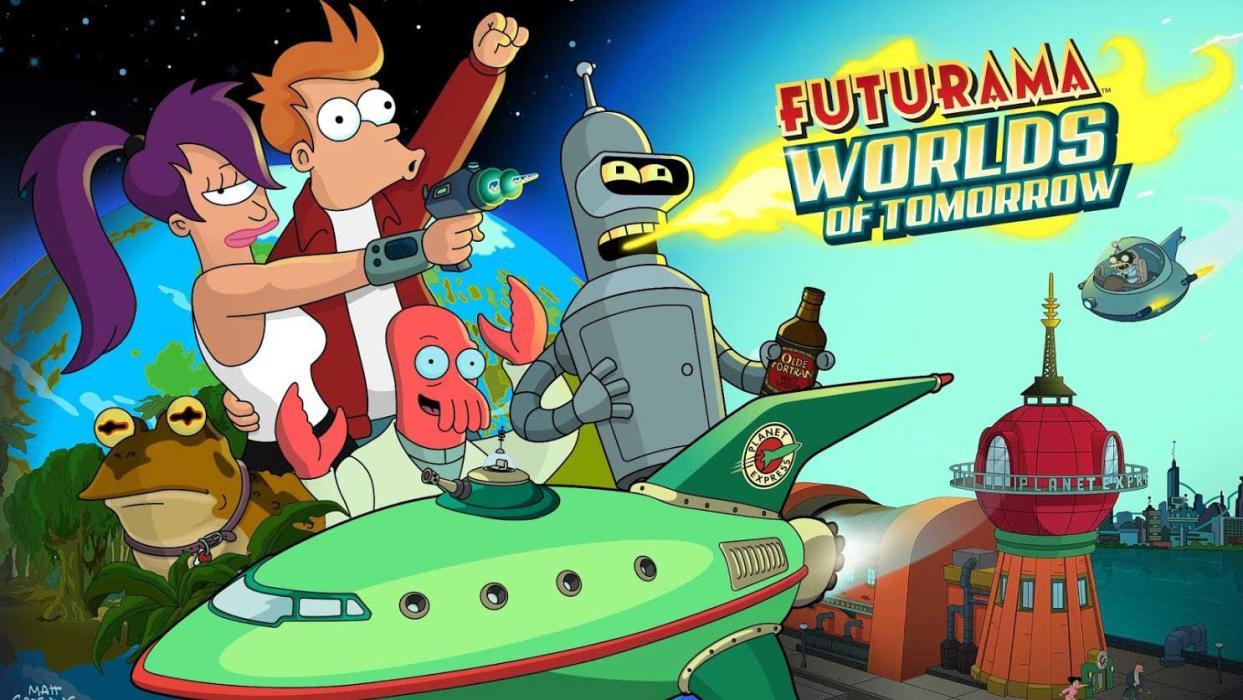 Futurama Mundos del Mañana