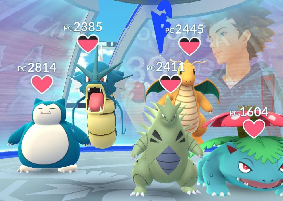 Gimnasio Pokémon GO