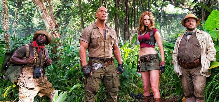 Jumanji 2, The Rock, Jack Black