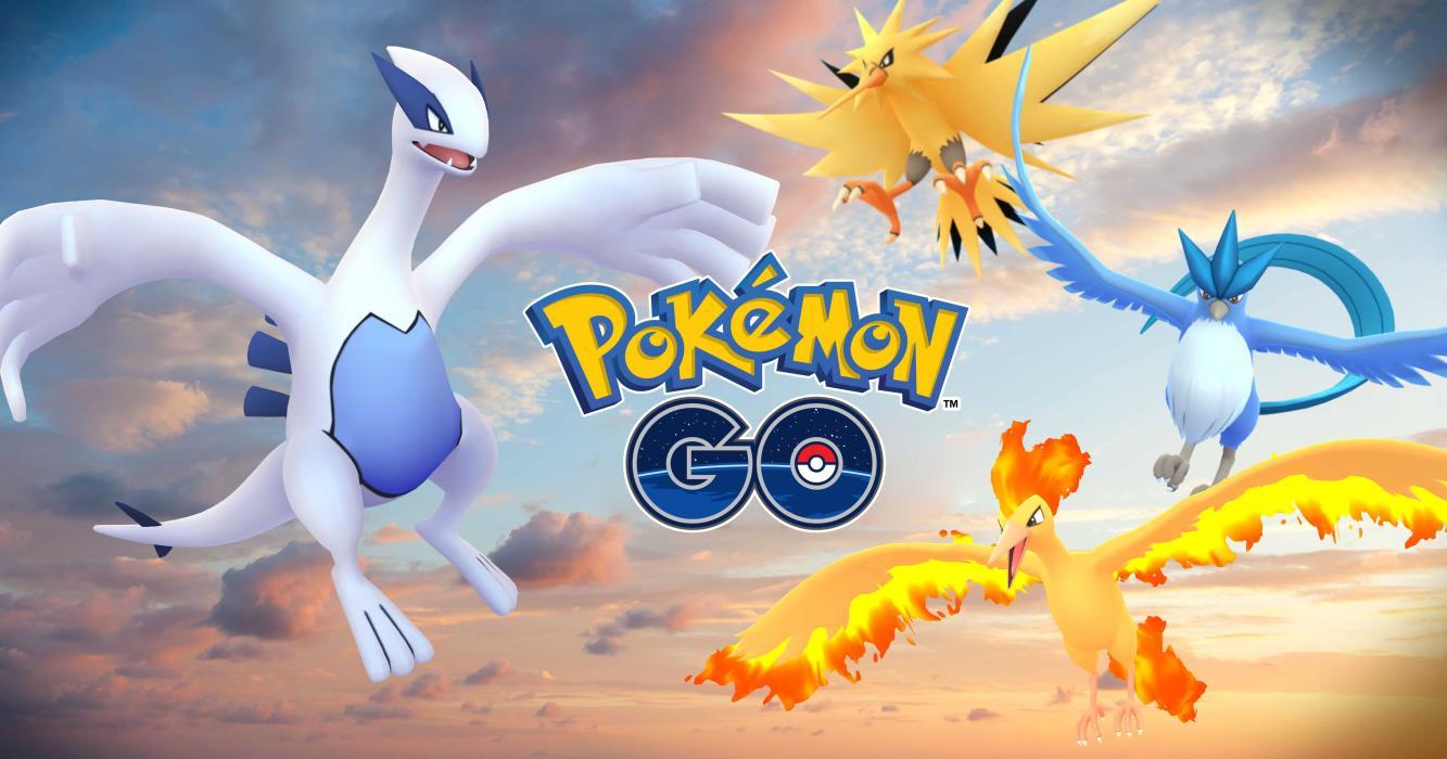 Los Pokémon legendarios llegan a Pokémon Go
