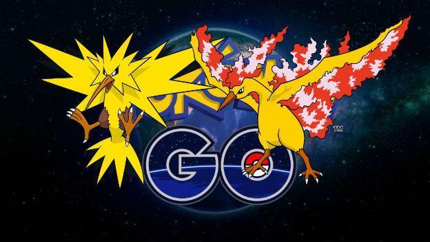 Pokémon GO - Moltres y Zapdos