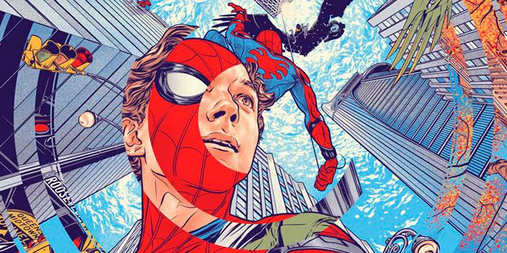 Spider-Man: Homecoming póster mondo