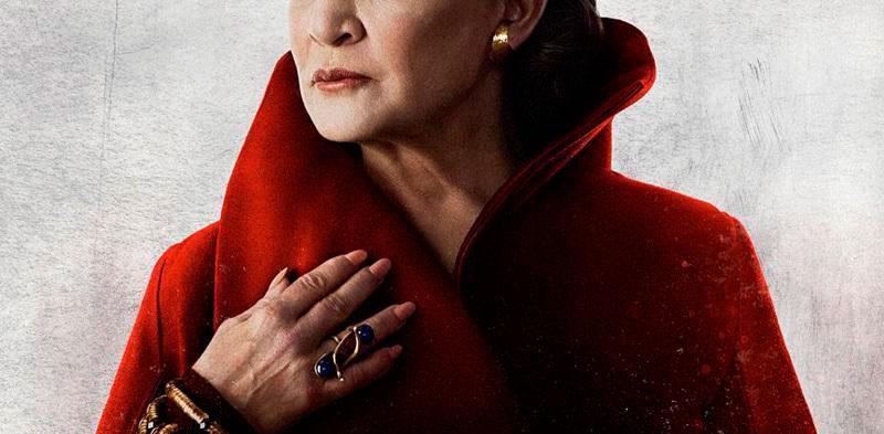 Star Wars: Los últimos Jedi - póster de Leia