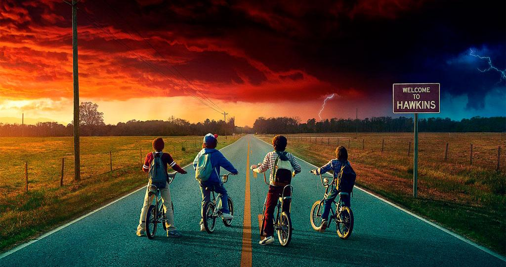 Stranger Things temporada 2 póster