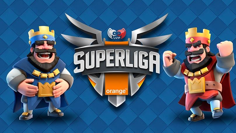 Superliga Orange Clash Royale