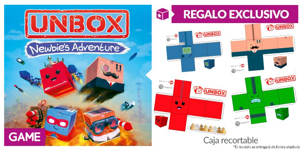 Unbox Newbie's Adventure