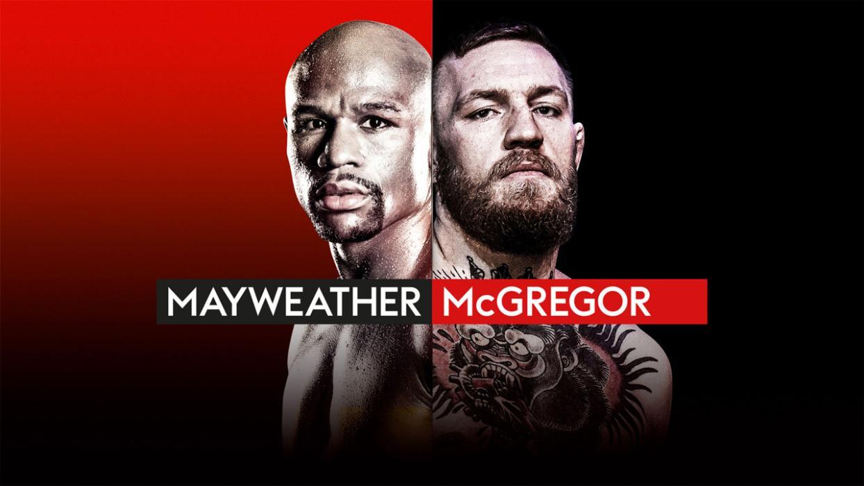 Combate Mayweather mcGregor