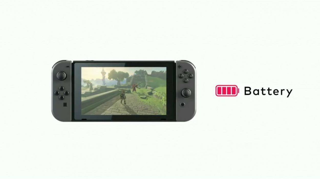Nintendo Switch problema batería