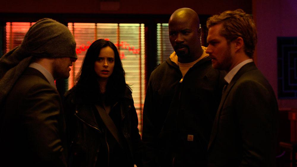 Daredevil, Jessican Jones, Iron Fist y Luke Cage juntos en las nuevas imágenes de The Defenders