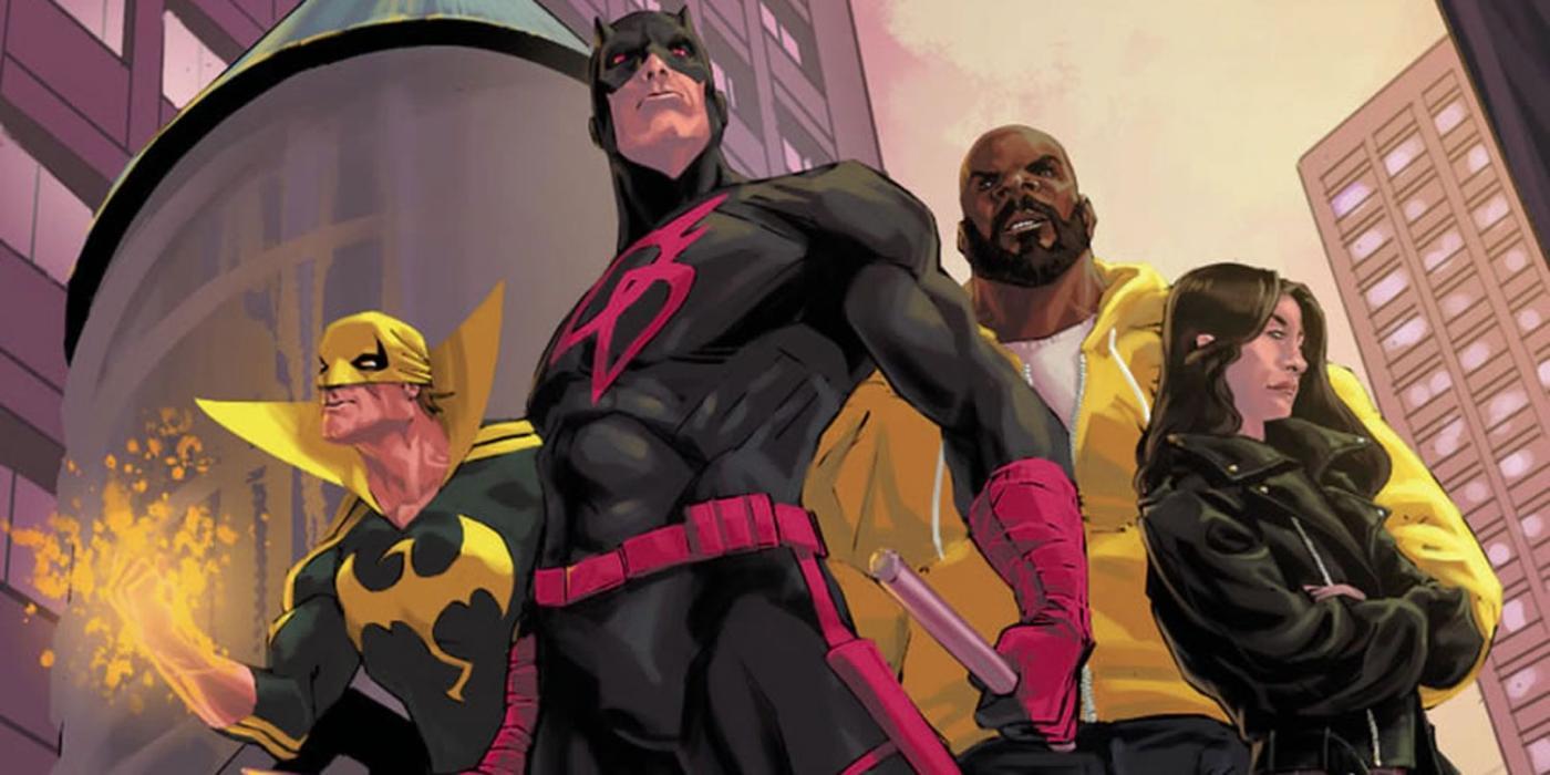 The Defenders tiene un cómic y estas son sus claves