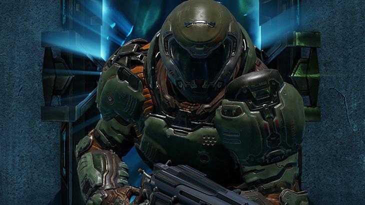 Doom Guy Quake Champions