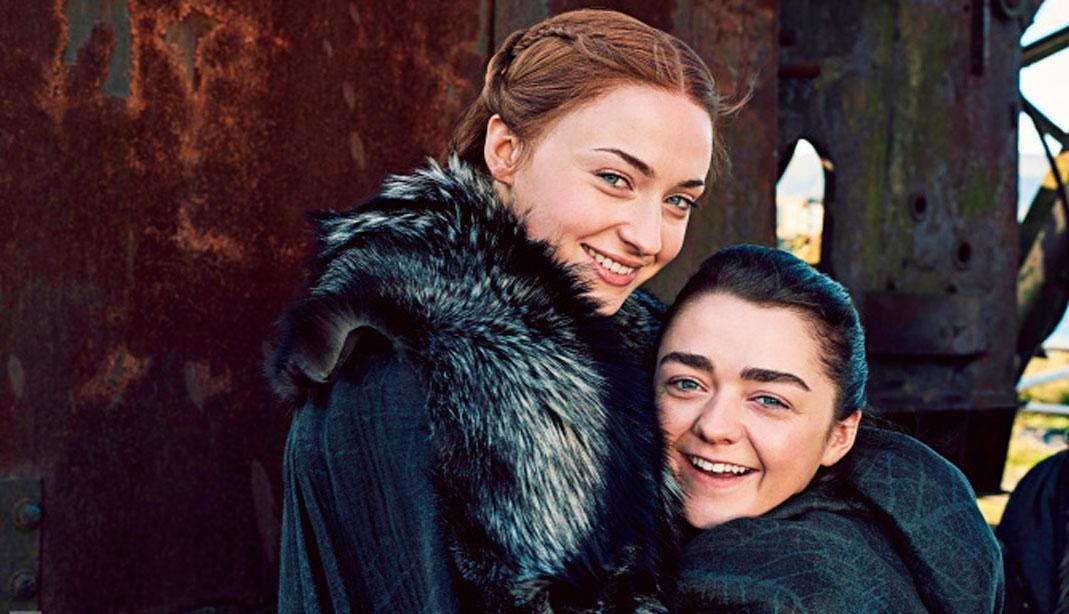 Juego de Tronos: Sansa y Arya