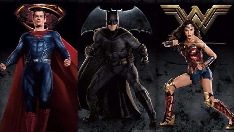 Nuevos pósters La Liga de la Justicia