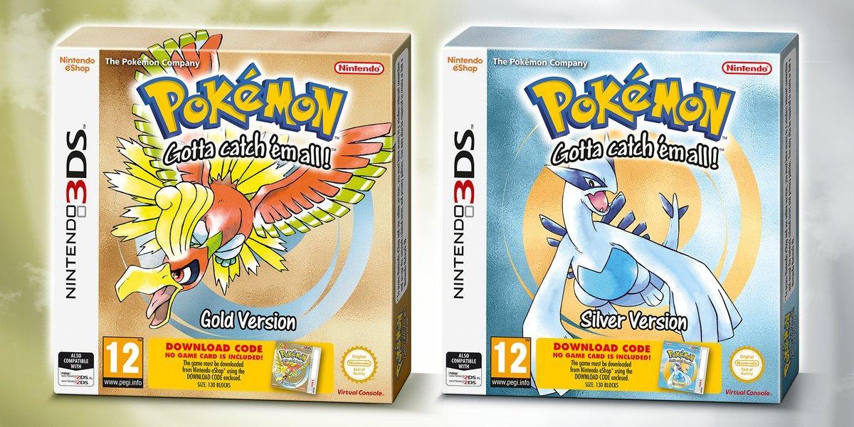 Pokémon Oro y Pokémon Plata