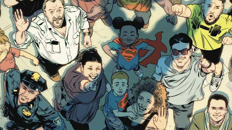 Portada Superman (Rebirth)