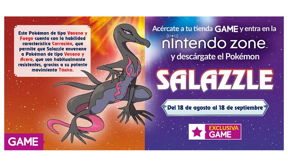 Salazzle GAME