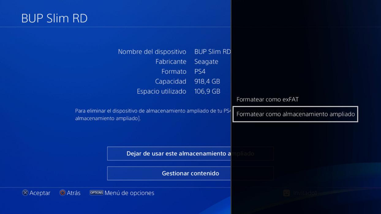 SSD externo PS4