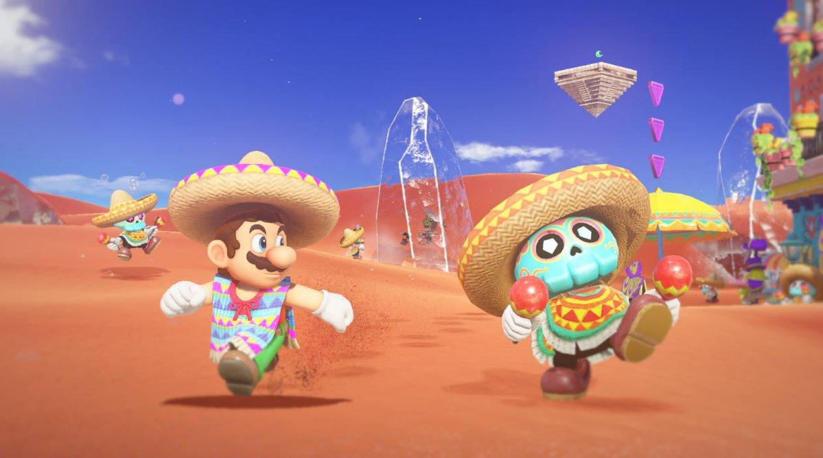 Mario mexicano de Super Mario Odyssey