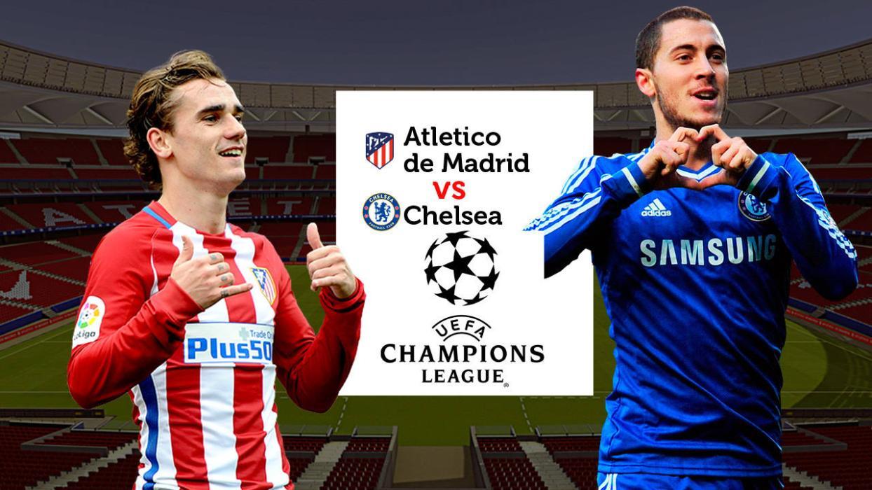 Atlético de Madrid Chelsea Champions League