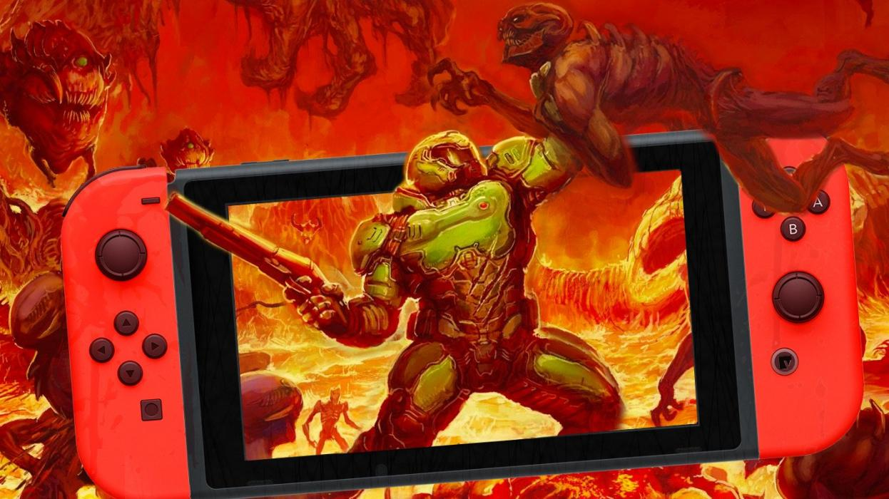 Analisis De Doom El Fps Mas Brutal Para Nintendo Switch