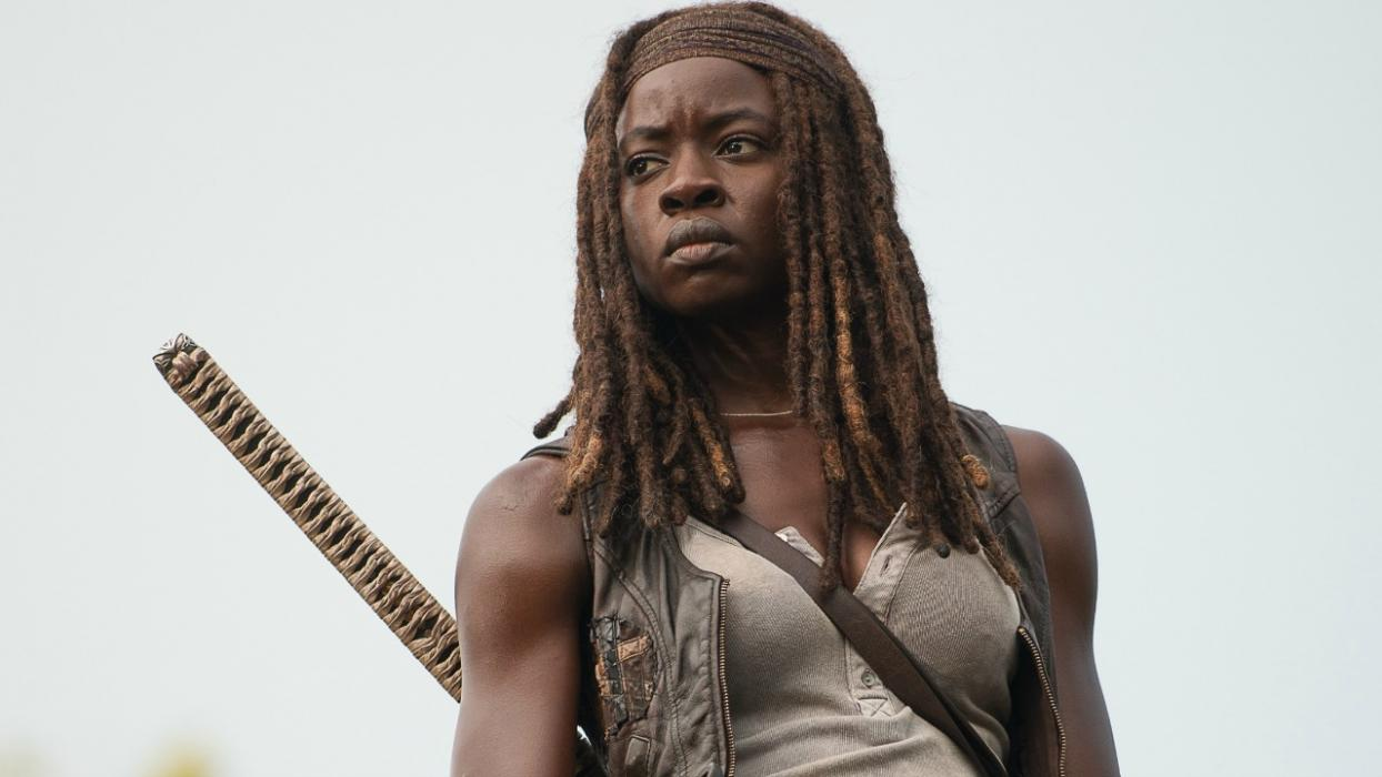 Danai Gurira como Michonne en The Walking Dead