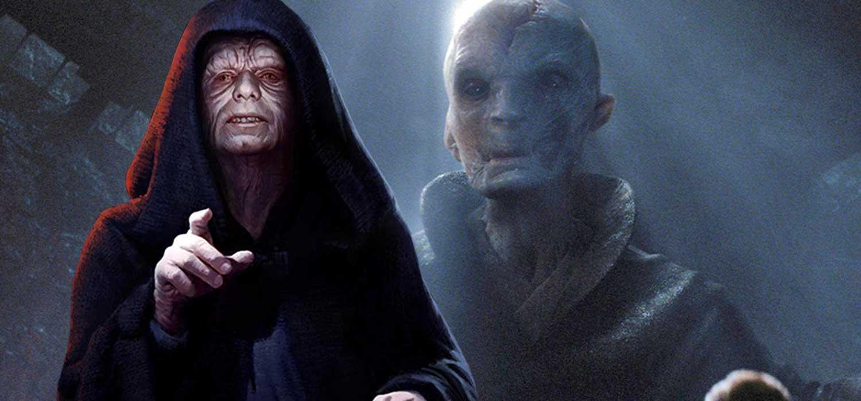 El director de Star Wars: Los últimos Jedi compara a Snoke y al Emperador