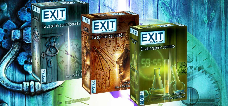 Exit - El juego de mesa de las 'Room escape' de Devir