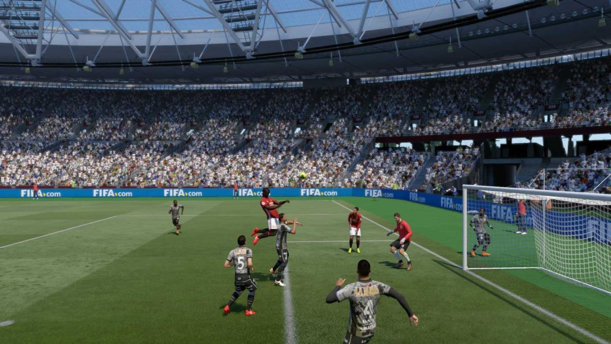 FIFA 18 córner