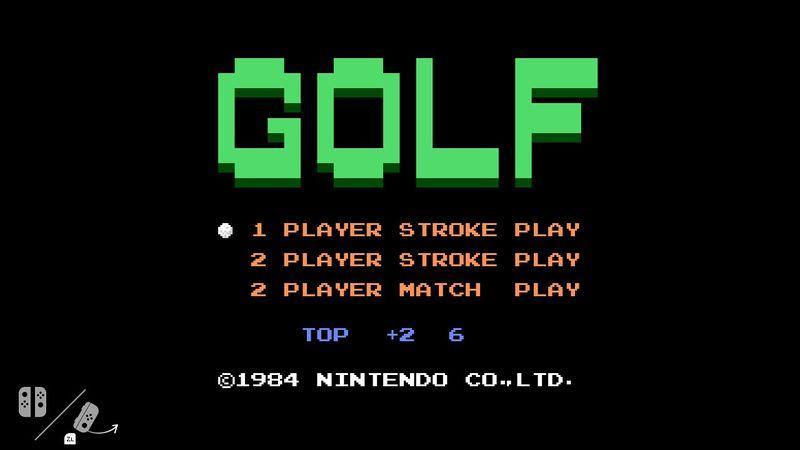 Golf (1984) en Nintendo Switch
